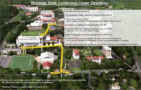 Westfield State University Map by Image Gallery Montclair State University Map