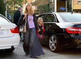 Extreme Flare Jeans Heidi Klum Flare Jeans Heidi Klum Jeans Looks Stylebistro