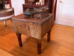 antique butcher block kitchen island home decorating interior