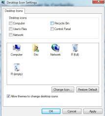 comment mettre des icones sur le bureau afficher ou masquer la corbeille sur le bureau trucs et astuces