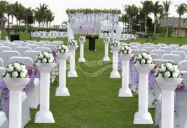 wedding arches and columns wholesale 8pcs lot wedding plastic column plastic pillars wedding