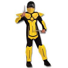 Halloween Costume Ninja Yellow Armored Ninja Costume Http Www
