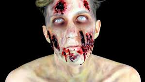 zombie makeup tutorial the walking dead inspired youtube