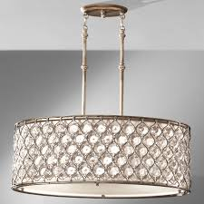 Murray Fiess Lighting Feiss F2569 3bus Crystal Lucia Pendant