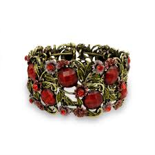 garnet bangle bracelet images Garden of eden cuff jpg