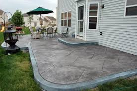 Concrete Patio Designs Patio Designs Concrete Landscaping Pinterest Sted