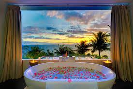 Oriental Bathroom Decor by Bathroom Oriental Bathroom Decorated By Flowers On White Bathtub