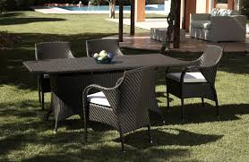 tavoli da giardino rattan tavolo per esterno in rattan sintetico ecorattan canaria home