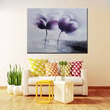 mintura hand painted abstract two canvas home decor oil