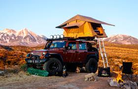 camping jeep wrangler accessories to turn your 4x4 into the ultimate camping rig
