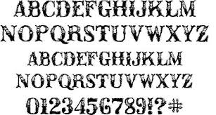 8 best images of western style lettering victorian alphabet
