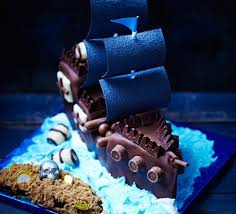 pirate ship and treasure island cake recipe bbc good food