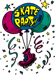 adorable skating party invitation template free birthday party