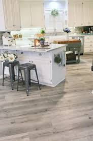 can i put cabinets on vinyl plank flooring updating a kitchen with vinyl engineered plank flooring