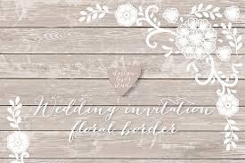vector lace border rustic wedding invitation border frame lace