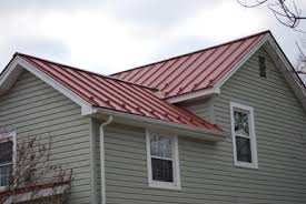 red metal roof houses in recent years of old house owners