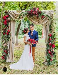 wedding arches outdoor 40 outdoor fall wedding arch and altar ideas hi miss puff