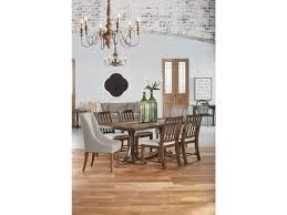 Traditional Dining Room Tables Magnolia Home By Joanna Gaines Traditional Dining Table With Iron
