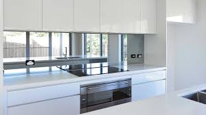 mirror kitchen backsplash kitchen modern house kitchen designs modern white kitchen