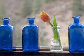 Cobalt Blue Vases 5 Ideas For A Blue Kitchen