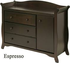 cherry changing table dresser combo dresser changing table combo the aspen tower and baby 9 cute crib