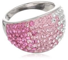 pink crystal rings images 57 best swarovski crystal jewelry images crystal jpg