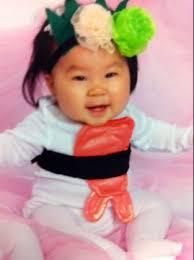 Halloween Sushi Costume Halloween Costume Prize Winner Sushi Baby La Jolla Ivf