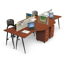 Modular Dining Table Iflex Modular Desking System Mooreco Inc Best Rite Balt