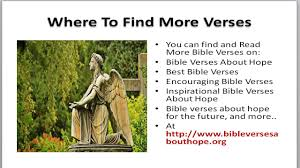 bible verses hope bible verses encouraging bible