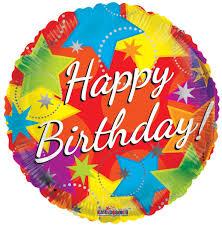 18 happy birthday bright mylar foil balloons wholesale