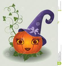 halloween pretty pumpkin vector stock photo image 58587577