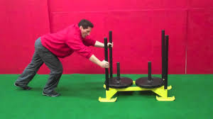 how to do the prowler sled push best body position speed and