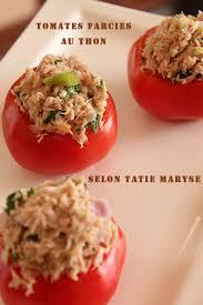 cuisine cr駮le facile réussir des tomates farcies au thon rapides et savoureuses