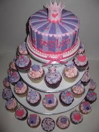 sophia u0027s baby shower cupcake tower