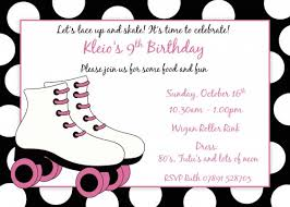 roller skating birthday invitations free printable ella u0027s 11th