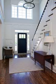 Front Door Chandelier Front Door With Sidelights Entry Traditional With Beige Rug