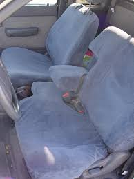 1995 2000 toyota tacoma xcab front 60 40 split bench seat with
