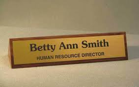 Name Plates For Office Desk Office Desk Nameplates For Office Desk Walnut Name Plate Desktop