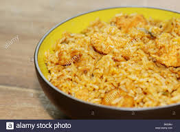 biryani indian cuisine chicken biryani rice indian cuisine takeaway stock photos chicken