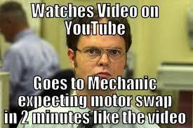 Youtube Video Meme - pic youtube video mechanic