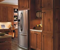 Terrain Cabinet Finish On Rustic Hickory Homecrest - Hickory kitchen cabinets pictures