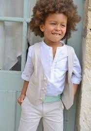 tenue mariage enfant pantalon de cérémonie garçon coton et look books and book