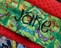 Ninja Turtle Bedding Ninja Turtle Bedding Etsy