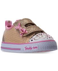 light up sneakers skechers girls twinkle toes shuffles itsy bitsy light up