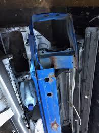 crashed subaru wrx subaru impreza bugeye 00 02 front bumper crash bar steve subaru