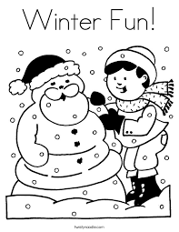 winter coloring pages 3 twisty noodle