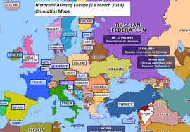 europe map in shifting maps of europe 200 years from 1815 2014 the k2p