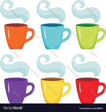 coffee cups royalty free vector image vectorstock
