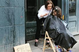student haircuts glasgow hairdressers give out free cuts to the people of glasgow glasgow live