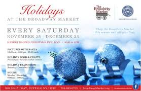 Market Holidays The Holidays At The Market Start On Saturday November 25th The